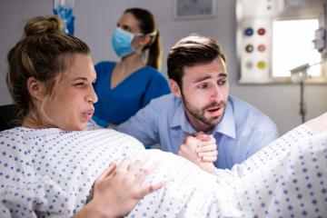 7 טיפים להפעלת בן זוג בחדר לידה